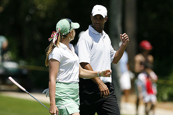 Creamer was paired with tennis star James Blake in the 2008 Stanford International Pro-Am.