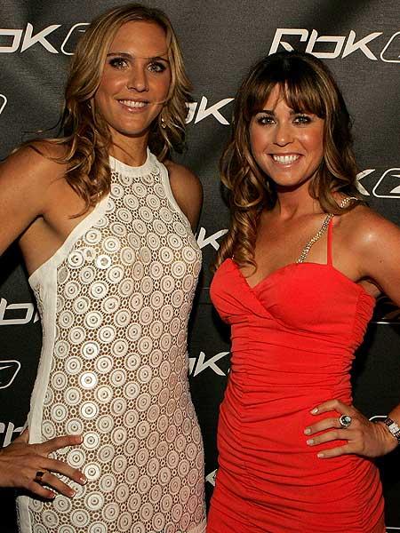 Tennis star Nicole Vaidisova and Creamer celebrated Vaidisova's 18th birthday at New York nightclub Stereo in April, 2007