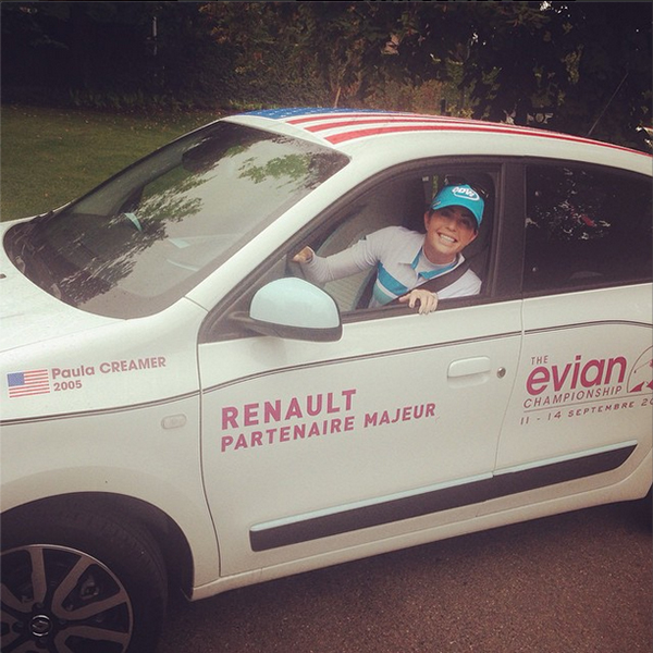 @paulacreamer1 Coming in hot!!!!!!! #Evian #manual #manyhills #wantaride?!?