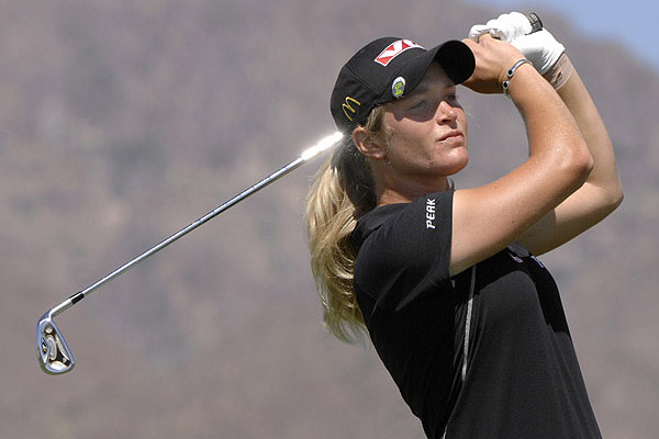 Suzann Pettersen is one of the longest hitters on the LPGA Tour.