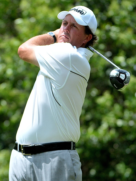 2. Phil Mickelson — Callaway I-MIX FT-5 (9.5°)                     Average driving distance: 295.3                     Percentage of fairways hit: 57.07%