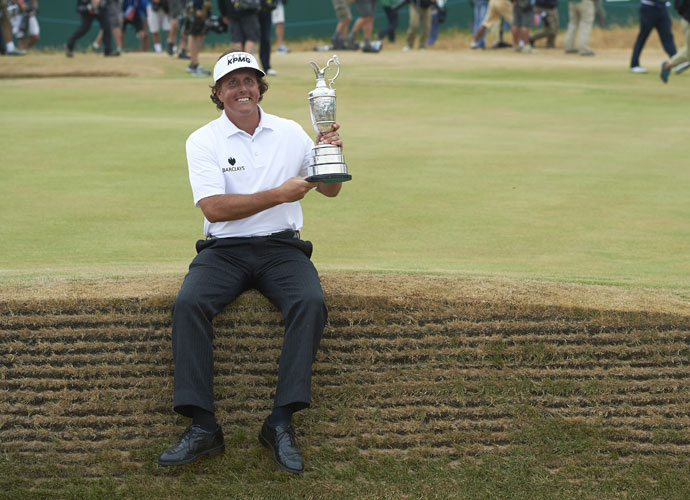 Phil Mickelson, 2013, Muirfield
