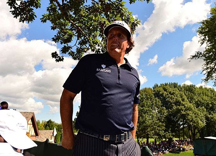 Phil Mickelson shot a two-over 72 to finish 12 over for the tournament.