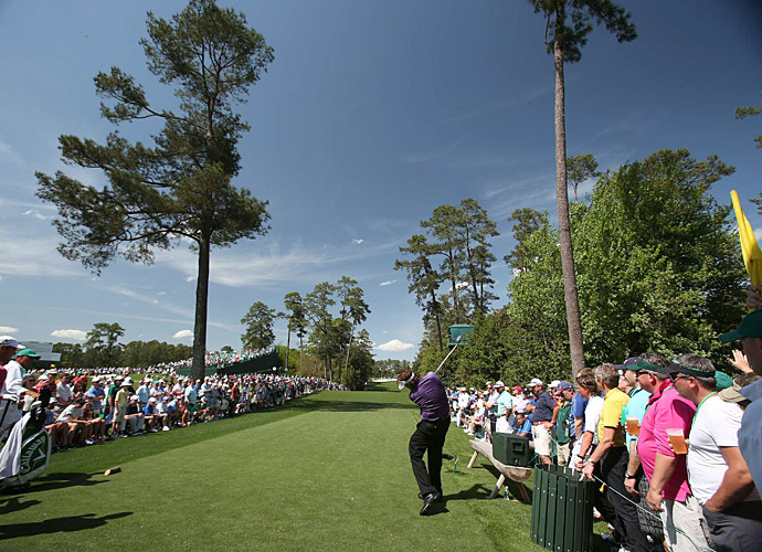 At the Masters, Mickelson failed to match his stellar play from 2012 and finished the tournament T54 at nine over.