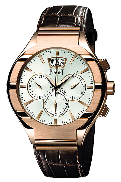 Piaget Polo Chronograph                       $22,000, piaget.com                       Good players often have a quiet, understated confidence — their skills will do all the talking. The Piaget Polo Chronograph is cut from the same mold. The pink gold body displays clean lines and is complemented by the brown alligator band. The distinctive date window, second-time-zone face and timer features accentuate the modern design. Complete Holiday Gift Guide