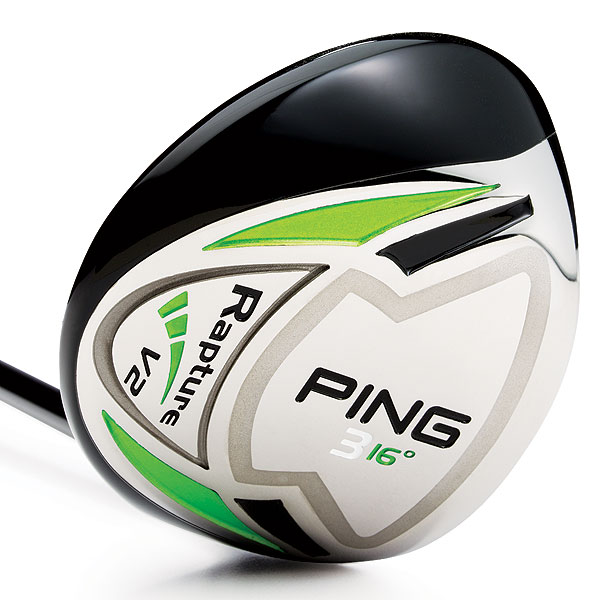 $249, graphite                       pinggolf.com                       Stock shafts: Ping TFC939F, Mitsubishi Javln FX                       Lofts: 3 (16°), 4 (17.5°), 5 (19°) and 7 (22°)                       A 61-gram tungsten plate (gray outline)                       accounts for one-third of the club's total                       weight. This piece helps to shift mass lower                       and more rearward. Company testing                       reveals that shots launch 11 percent higher                       with 9 percent less spin than the original                       Rapture. The large, shallow face further                       contributes to higher trajectory. A machined                       face is plasma-welded to the steel body to                       increase ball speed (and distance) on off-center                       hits. You can be custom-fit for shaft                       flex, length, grip size and swingweight.