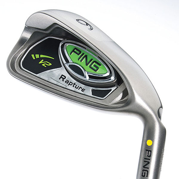 """$1,199, steel; $1,399, graphite                     pinggolf.com                                          It's for: Golfers seeking max-game-improvement technology                                          Brad Schweigert, manager/golf club designer:                     """"We don't typically make more distance a goal when                     engineering irons. But we did with Rapture V2. We                     strengthened lofts, but more importantly, used the density of                     the tungsten sole weight to position the center of gravity low                     and farther back. This increased the club's launch angle and MOI.""""                                          How it works: The V2 has a stainless steel body, titanium face and                     tungsten sole. The major change between the original Rapture and                     the Rapture V2 is the weight (and location) of a dense tungsten plug.                     In Rapture V2, the 45- to 70-gram plug (lightest in long irons, heaviest                     in short) is positioned in the broad sole. By contrast, the Rapture has                     a 25-gram plug in the toe area of the cavity. Performance-wise, V2                     launches shots higher and provides more head stability (4 percent                     higher MOI). Higher launch enables Schweigert and friends to                     strengthen lofts (by 1.5 degrees) and bolster carry distance. A larger                     tuning port (in the deeper cavity) should aid feel. TFC939i shafts are                     lighter in long irons to increase head speed, and heavier in short irons to                     enhance control."""