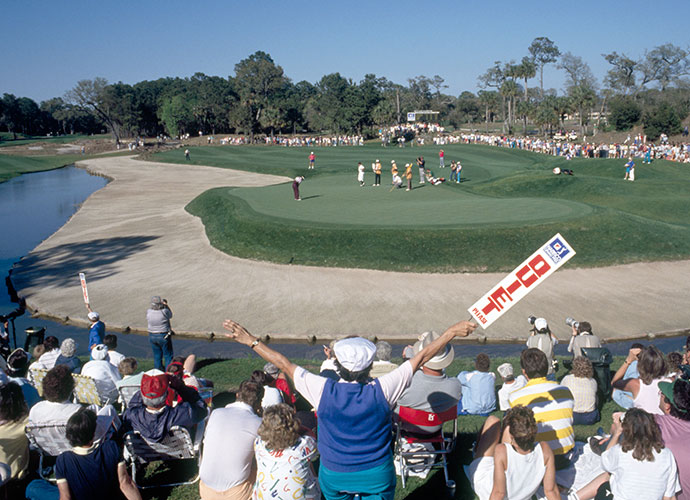 "10. What's in a Name?: The Players Championship event was known as the Tournament Players Championship from 1974 until 1988. The original name was a holdover from the days where Tour players and PGA Club pros were lumped together in one organization. The host facility was known as TPC at Sawgrass until 2007, when it dropped the ""at."" Around the same time, the Stadium course morphed to the PLAYERS Stadium course."