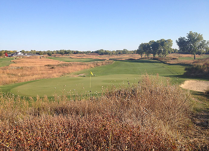 "37. Prairie Dunes Country Club, Hutchinson, Ks., No. 8, par-4: On a property walk-through in the mid-1930s, architect Perry Maxwell declared of Prairie Dunes, ""There are 118 good golf holes out here. All I have to do is eliminate 100 of them. Good thing he kept the 8th. The 430-yarder dishes out four heaving ripples that cut across the fairway and bunkers edged with yucca plants, plus all the wind you can handle."