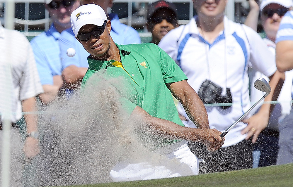 Tiger Woods is coming off a third-place finish last Sunday at the Australian Open.
