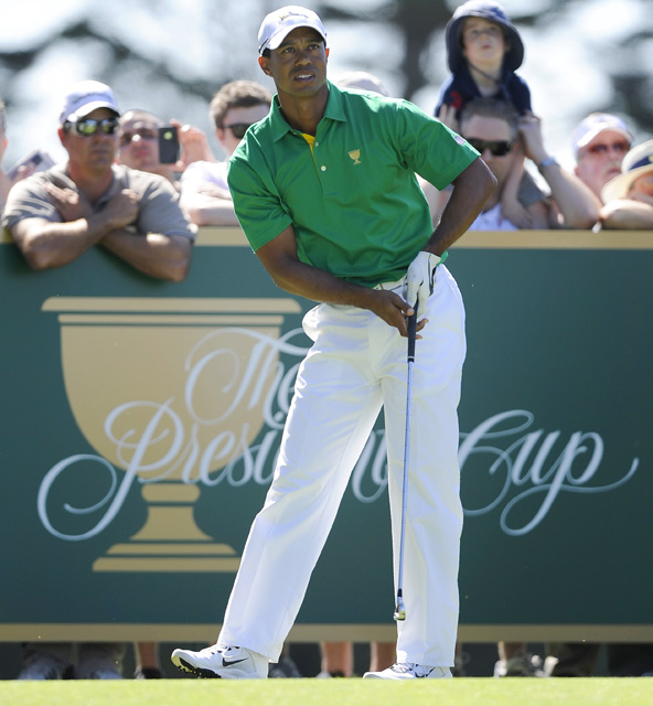 Woods has a career record of 13-11-1 in this event.