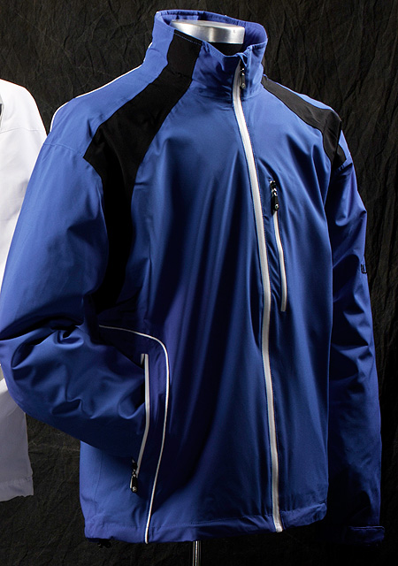 ProQuip TourFlex                       ProQuip, the company that outfitted Team Europe in the 2010 Ryder Cup, offers the TourFlex, which features a laminated outer layer and a three-year waterproof warranty. This stretchable performance fabric keeps you dry by allowing perspiration to escape.                        $240; proquipgolfusa.com