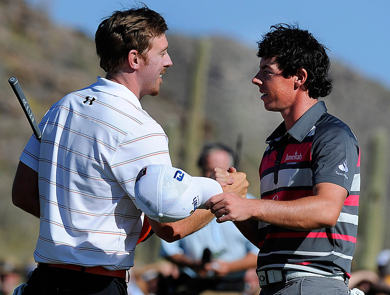McIlroy narrowly missed his first victory of the season when he fell to Hunter Mahan in the final match at the WGC-Accenture Match Play Championship in February.