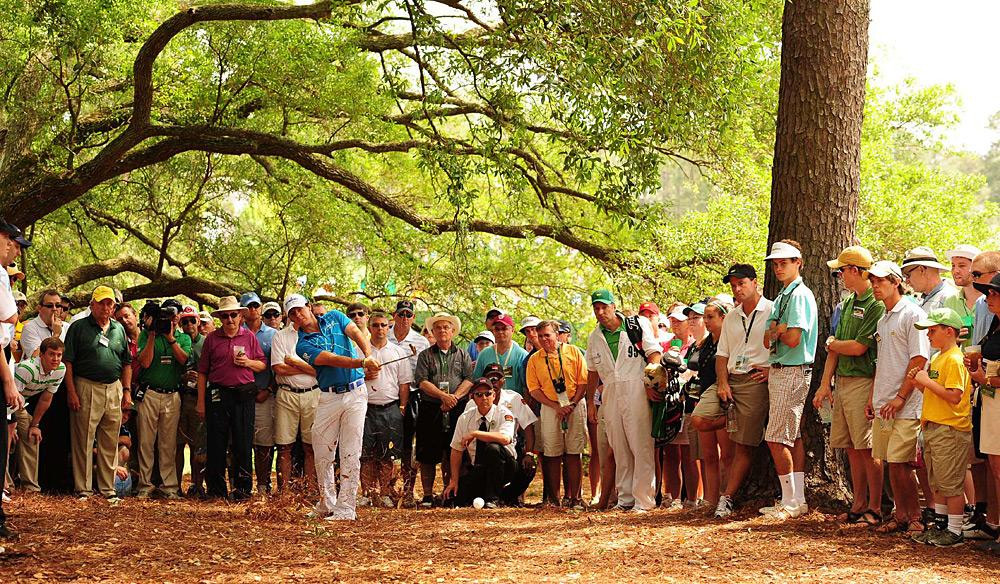 McIlroy entered the Masters as one of the favorites, but he struggled all week and finished tied for 40th.