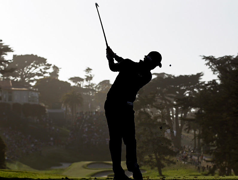 After running away with the 2011 U.S. Open, McIlroy flopped in his title defense, shooting 77-73 to miss the cut at the Olympic Club in San Francisco.