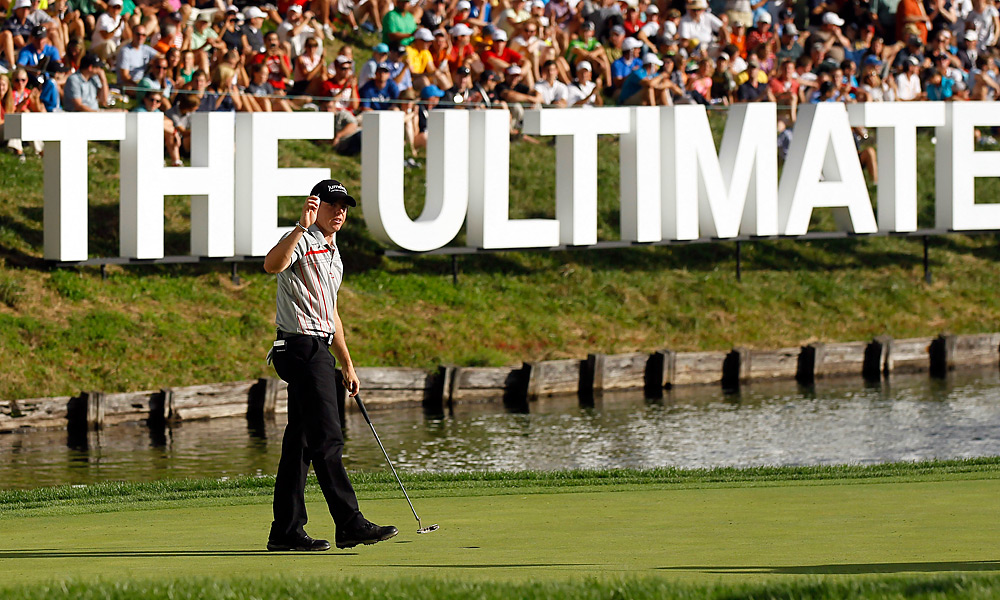 McIlroy won his second straight title, and third in four events, by taking the BMW Championship at Crooked Stick, the third event in the four-leg FedEx Cup playoffs.