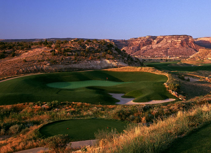 95. The Golf Club at Redlands Mesa Grand Junction, Colo.; Jim Engh (2001) -- $63-$105, redlandsmesa.com
