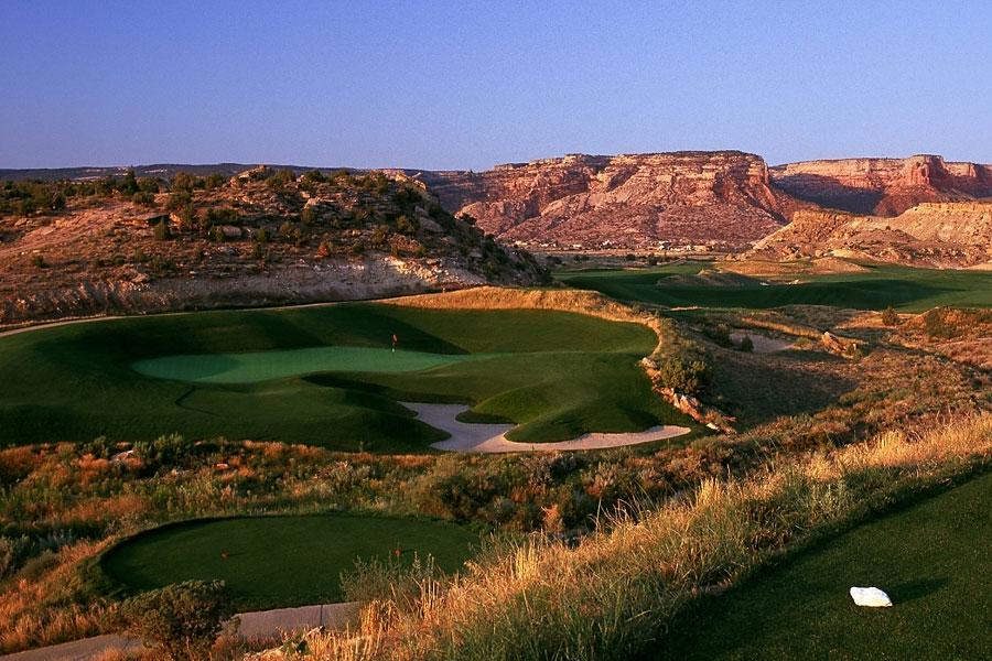 The Golf Club at Redlands Mesa -- Grand Junction, Colo. -- redlandsmesa.com                        -- June-Sept.: $89 (Sun.-Thurs., Twilight)                       -- Nov. 15-March 31, 2013: $79