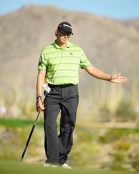 The 2001 and 2004 U.S. Open winner finished T10 at the 2012 U.S. Open and is currently ranked No. 130 in the world. The top eight finishers at the previous year's U.S. Open get automatic invitations to the Masters.