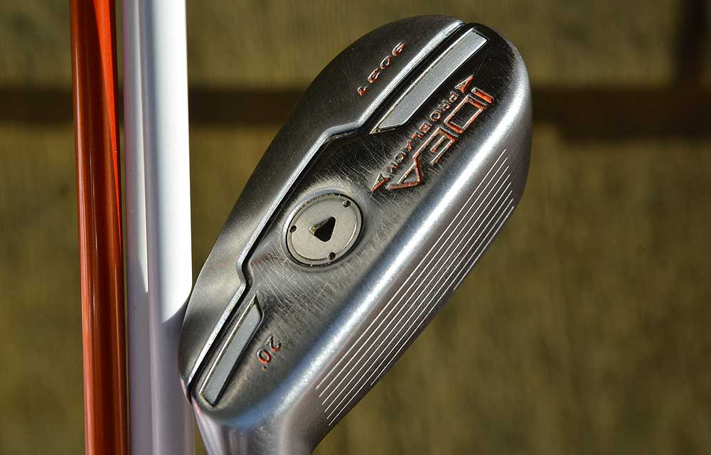 Fowler will continue to use an 20-degree Adams Idea Pro Black hybrid that is trimmed in orange.