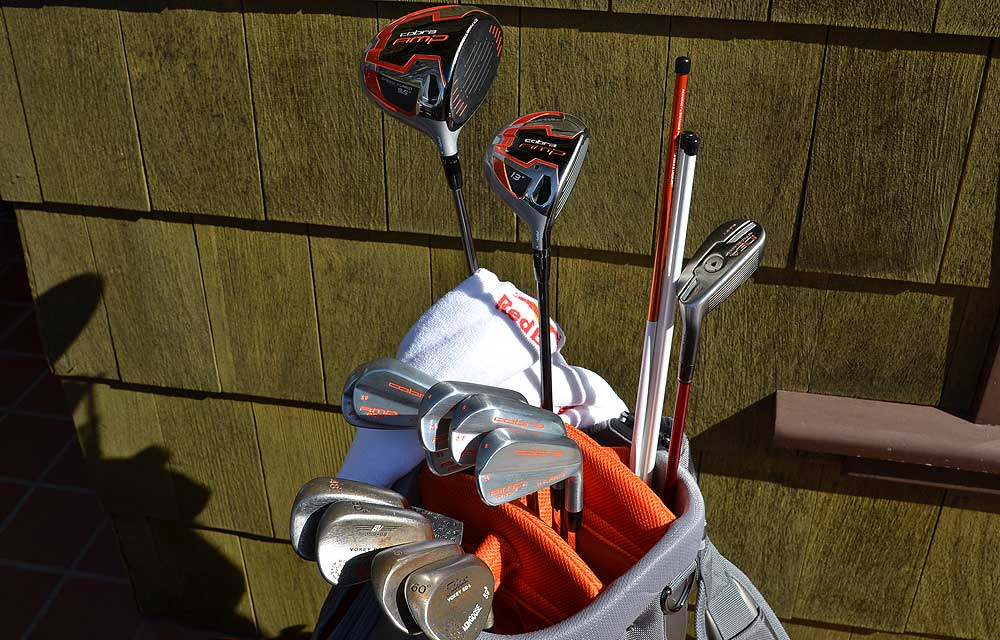 rickie fowler s cobra golf equipment at torrey pines