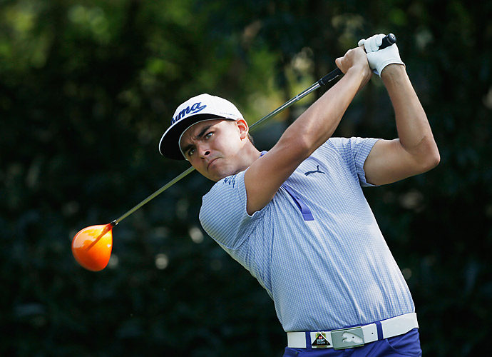Rickie Fowler fired a two-under 70 in the second round.
