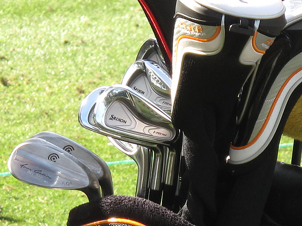 Robert Allenby plays Srixon's I-701 irons.