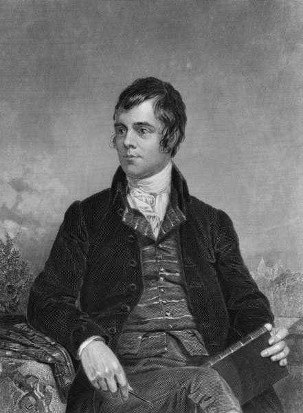 """Address to a Haggis"" Robert Burns                       Fair fa' your honest, sonsie face,                       Great chieftain o the puddin'-race!                       Aboon them a' ye tak your place,                       Painch, tripe, or thairm:                       Weel are ye worthy o' a grace                       As lang's my arm."
