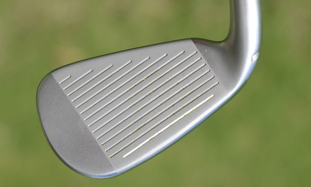 The long- and mid-irons are cast from 450-Carpenter steel while the short irons (8-iron through pitching wedge) are made from softer 17-4 stainless steel for better feel.