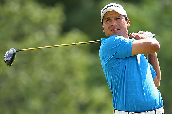 Romero, who nearly won the 2007 British Open at Carnoustie, tied the course record with 65 and moved into contention.