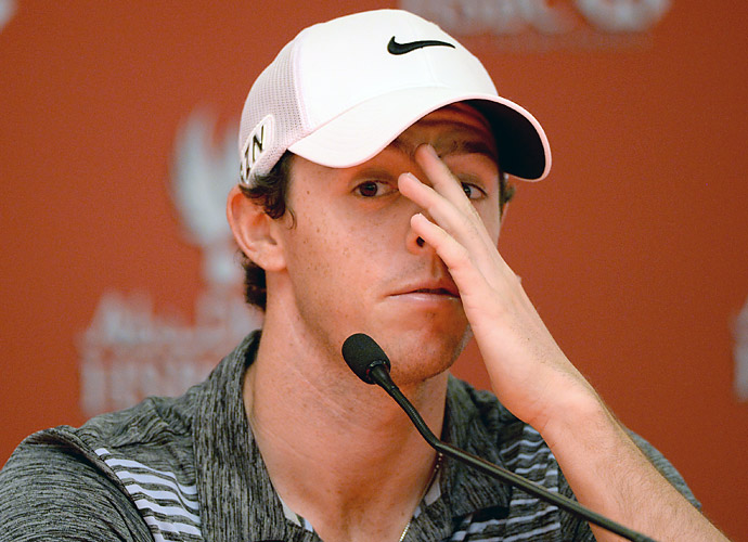 """To a spectator it may feel like I have been unduly punished, and that's what it feels like to me, but it's a rule of the game,"" said McIlroy. ""I do feel like I have been hard done by but it's nothing that a fast start tomorrow can't fix."""
