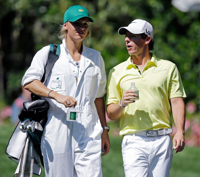 McIlroy's best finish at Augusta National came in 2011 when he lost the lead during the final round and finished tied for 15th.