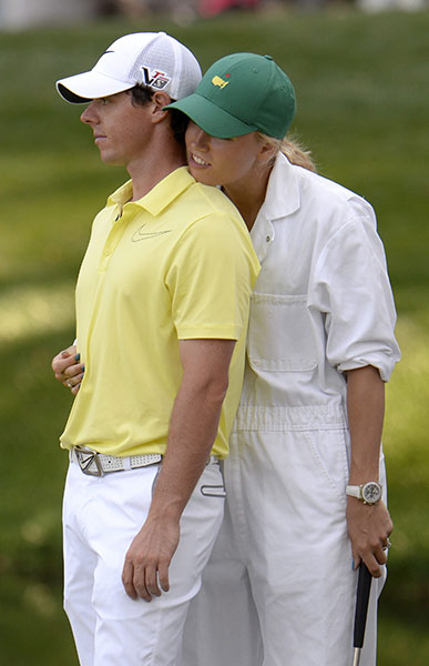LEAST EXPECTED BREAKUP                     Rory McIlroy and Caroline Wozniacki: When Rory ended his dream-coupling with Caroline [over the phone, no less], the only person more shocked than the tennis star was, well, the rest of the world.