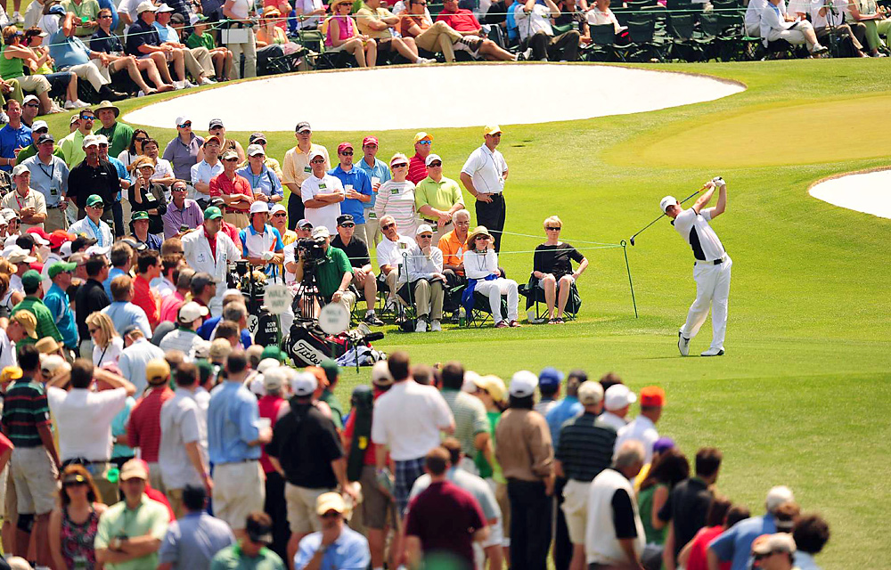 McIlroy was on the leaderboard from the start. He fired a 3-under 69 in the second round for a two-shot lead.