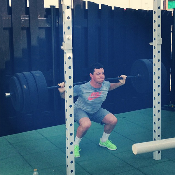 @rorymcilroy Great leg workout to start the day! #betterneverstops
