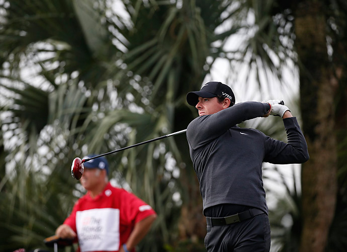 Rory McIlroy fired a four-under 66 on Friday to extend his lead at the Honda Classic.
