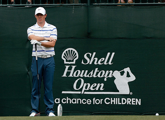 Rory McIlroy got off to a slow start in the first round of the Shell Houston Open, shooting a one-over 73.
