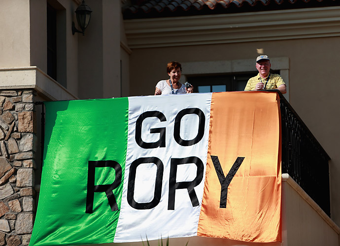 Rory McIlroy fans can be found all over the world.