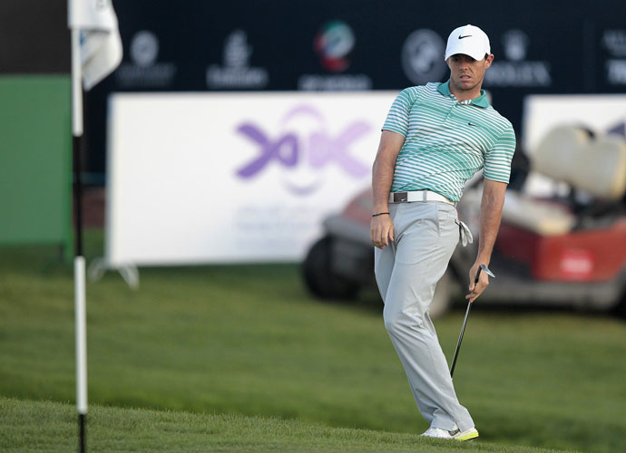 McIlroy has already clinched the European Tour's season-long Race to Dubai no matter where he finishes this week.