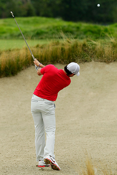 But McIlroy got off to a slow start, struggling to a 74.