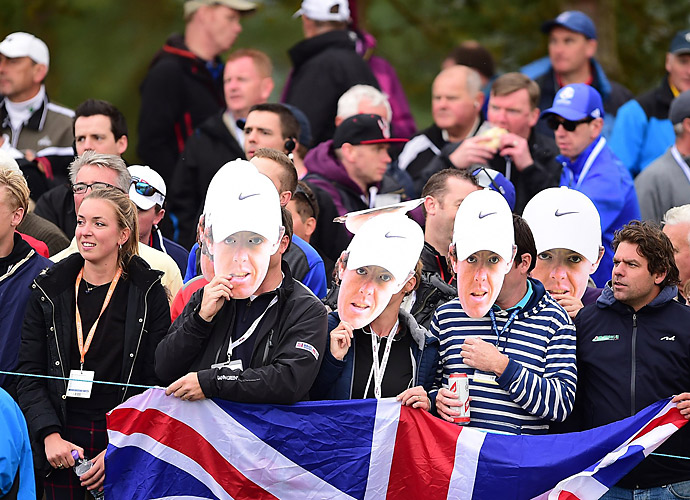 Some Rory McIlroy imposters were spotted at Gleneagles.