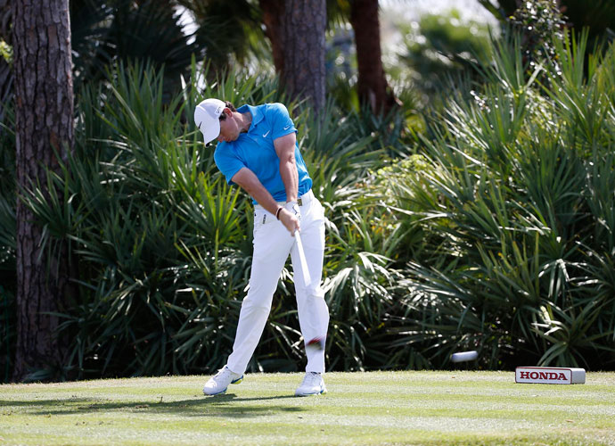 McIlroy hinted his game was returning to form after a second-place finish at the Honda Classic in March. He led through three rounds before faltering with a 74 on Sunday and eventually losing in a three-way playoff. He did manage tohit one of the all-time best approaches into the 18th hole and nearly stole the victory.