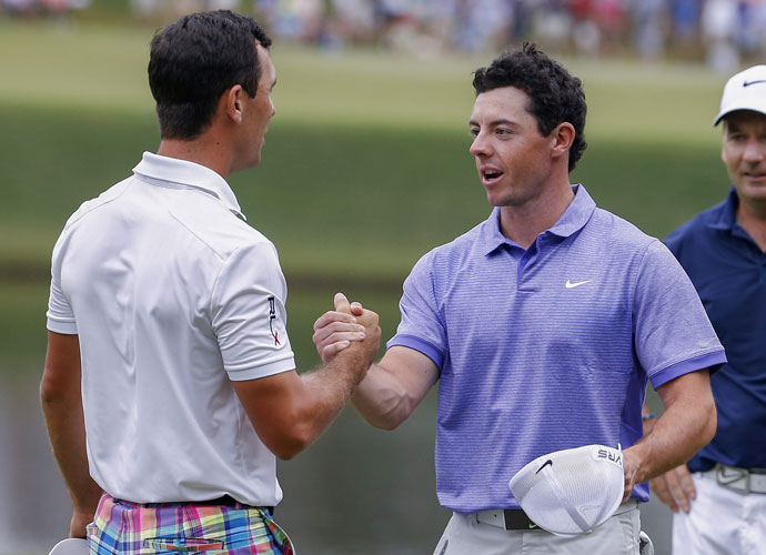 "McIlroy nearly won the season-ending Tour Championship, too. He was second, three shots behind Billy Horschel, who pocketed the $10 million bonus for winning the Fed Ex Cup. ""He was clutch when he needed to be,"" McIlroy said. ""He played the best golf this week and I'm happy for him."""