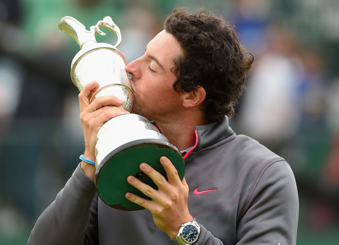 Rory McIlroy held off Sergio Garcia and Rickie Fowler by two shots to claim the Claret Jug as the 2014 British Open Champion.