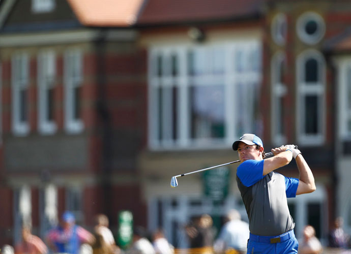 McIlroy's opening-round 66 was his latest strong first round, which include a 63 this year at Memorial and a 63 in the first round of the 2010 British Open at St. Andrews.