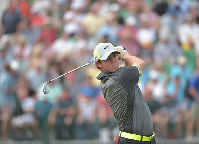 McIlroy ended his second round with birdies at 17 and 18.