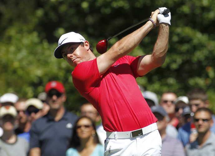 Rory McIlroy moved up the leaderboard with a second-round 69, good for a T17th at -3, five shots back.