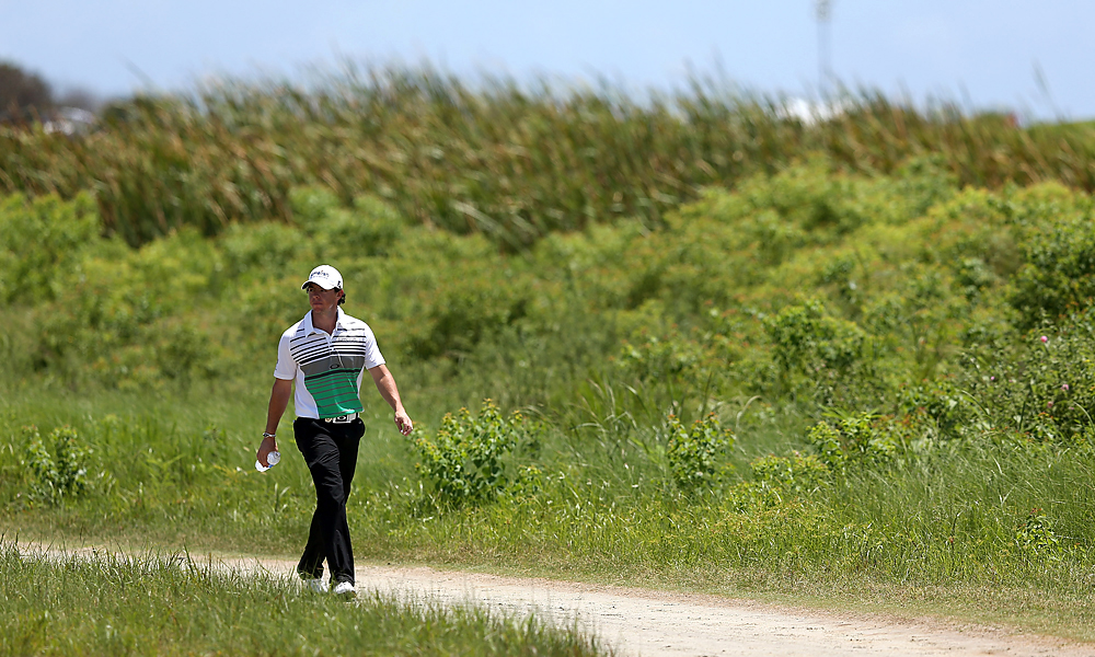 World No. 3 Rory McIlroy has struggled at majors in 2012. He finished tied for 40th at the Masters, missed the cut at the U.S. Open, and tied for 60th at the British Open.