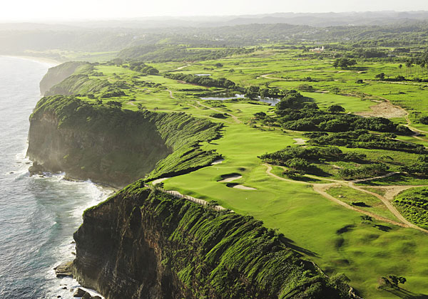 Royal Isabela, Isabela, Puerto Rico                       Charlie Pasarell used to be known primarily for dueling Pancho Gonzales in the longest match in Wimbledon history, but Pasarell's new course in his native Puerto Rico might soon eclipse any of his tennis achievements. Together with brother Stanley and designer David Pfaff, Charlie has smacked a service ace when it comes to Royal Isabela. Strung on rugged cliffs in northwest Puerto Rico, 75 miles west of San Juan, this ferocious 7,538-yard, par-72 tropical test winds through junglelike flora on the hilly front nine, but it's the linksyback nine that will linger in memory, thanks to the cliff-top double green shared by the 12th and 14th holes as well as the 200-yard, par-3 17th, an all-or-nothing thriller perched high above the Atlantic. Up to this point, Puerto Rico has trotted out a series of amiable resort courses meant for holiday fun. Royal Isabela raises the bar considerably.