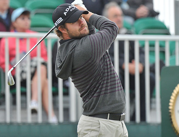 In the we-don't-know-what-to-make-of-it category was Ryan Moore's hoodie. Not very British and, in any case, more King's Road than Sloane Square. He's definitely a golfer who goes his own way.